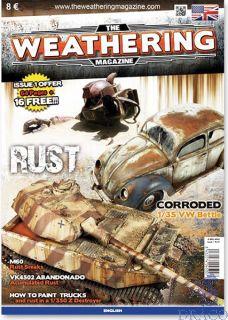 The Weathering Magazine 1 - Rust (english) [AMMO by Mig Jimenez]