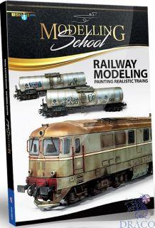 Modelling School - Railway modeling - Painting realistic trains (english) [AMMO by Mig Jimenez]
