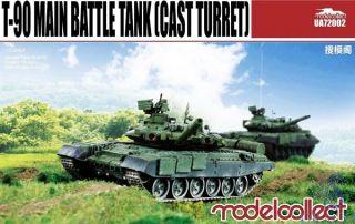 T-90 Main Battle Tank (Cast Turret) 1/72 [ModelCollect]