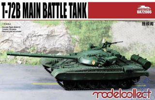 T-72B/B1 Main Battle Tank 1/72 [ModelCollect]