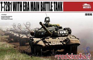 T-72B1 with ERA main battle tank 1/72 [ModelCollect]