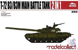 T-72 B3/B3M Main Battle Tank 2 in 1 1/72 [ModelCollect]