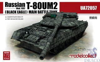 T-80UM2 Mod.1997 (Black Eagle) Main Battle Tank 1/72 [ModelCollect]