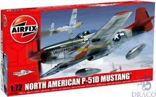 North American P-51D Mustang 1/72 [Airfix]