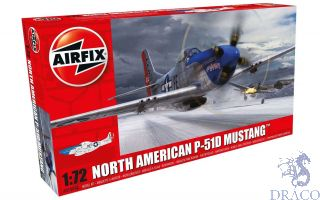 North American P-51D Mustang 1/72 1/72 [Airfix]