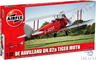 De Havilland DH.82a Tiger Moth 1/72 [Airfix]