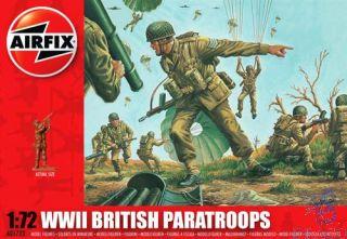 WWII British Paratroops 1/72 [Airfix]