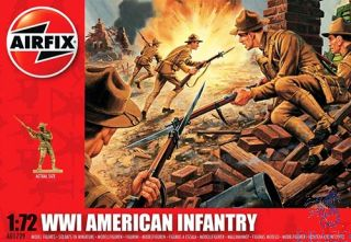 WWI American Infantry 1/72 [Airfix]