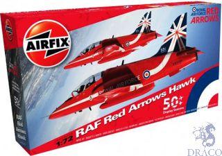 RAF Red Arrows Hawk 50 Display Seasons 1/72 [Airfix]