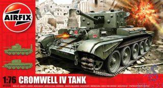 Cromwell IV Tank 1/76 [Airfix]