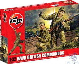 WWII British Commandos 1/32 [Airfix]