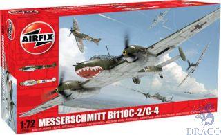 Messerschmitt Bf110C-2/C-4 1/72 [Airfix]