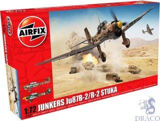 Junkers Ju87B-2/R Stuka 1/72 [Airfix]