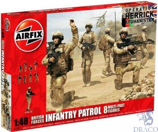 British Forces Infantry Patrol 1/48 [Airfix]