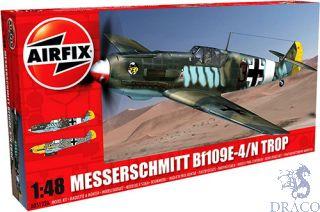 Messerschmitt Bf109E-4/N Tropical 1/48 [Airfix]