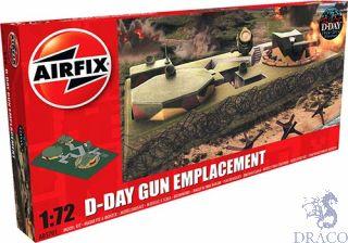 D-Day Gun Emplacement 1/72 [Airfix]