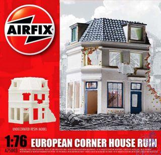 European Corner House Ruin 1/76 [Airfix]