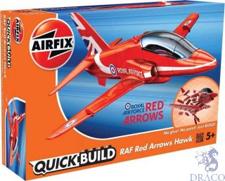 Red Arrows Hawk Quickbuild [Airfix]