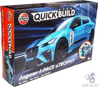 Jaguar I-PACE eTROPHY Quickbuild [Airfix]