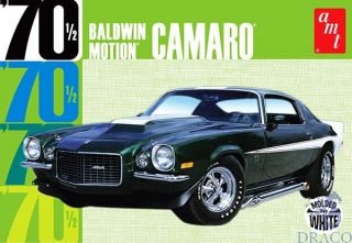 1970 Baldwin Motion Camaro (molded in white) 1/25 [AMT]