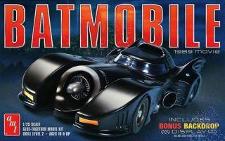 Batmobile 1989 movie 1/25 [AMT]