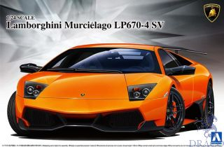 Lamborghini Murciélago LP670-4 SV 1/24 (Super Car Series #9) [Aoshima]