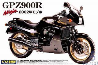 Kawasaki GPZ900R Ninja 2002 1:12 [Aoshima]