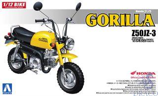 Honda Z50JZ-3 Gorilla - Special Parts Takegawa  1:12 [Aoshima]