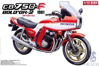 Honda CB750F Bold'or-2 1981 1/12 [Aoshima]