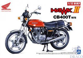 Honda Hawk II CB400T 1978 1/12 [Aoshima]