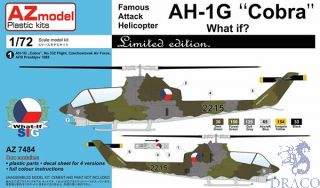 """AH-1G """"Cobra"""" What if? Limited Edition 1/72 [AZmodel]"""