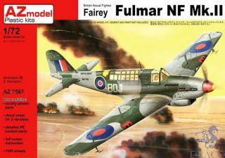British Naval Fighter Fairey Fulmar NF Mk.II (ex Vista) 1/72 [AZmodel]