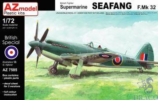 British Fighter Supermarine Seafang F.Mk 32 1/72 [AZmodel]