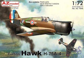 Curtiss Hawk H-75A-4 1/72 [AZmodel]