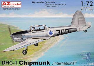 "DHC-1 Chipmunk ""International"" 1/72 [AZmodel]"