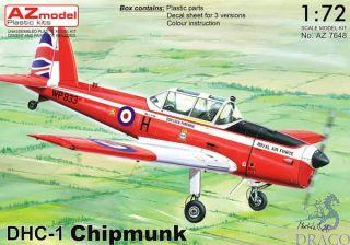DHC-1 Chipmunk 1/72 [AZmodel]