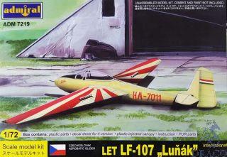 "Czechoslovak Aerobatic Glider LET LF-107 ""Luňák"" International 1/72 [AZmodel]"