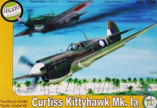 Curtis Kittyhawk Mk. Ia 1/72 [AZmodel]