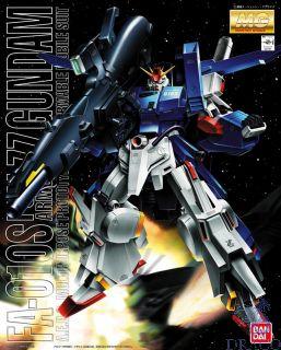 FA-010S Full Armor ZZ Gundam A.E.U.G. Prototype Multipurpose Armable Mobil Suit 1/100 [Bandai MG Gundam #30]