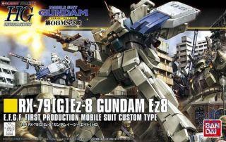 RX-79[G]Ez-8 Gundam Ez8 E.F.G.F First Production Mobile Suit Custom Type 1/144 [Bandai HGUC Gundam #155]