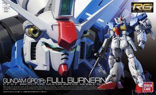 GP01Fb Full Burnern - E.F.S.F. Prototype Multipurpose Mobile Suit 1/144 [Bandai RG Gundam #13]