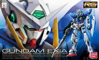 Gundam Exia Celestial Being Mobile Suit GN-001 1/144 [Bandai RG Gundam #15]