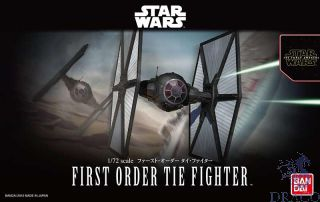 First Order Tie Fighter 1/72 [Bandai Star Wars - The Force Avakens]