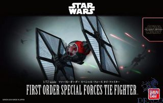 First Order Special Forces Tie Fighter 1/72 [Bandai Star Wars - The Force Avakens]