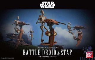 Battle Droid & Stap 1/12 [Bandai Star Wars]