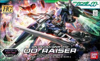 GN-0000+GNR-010 00 Raiser 1/144 [Bandai HG00 Gundam #038]
