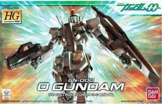 GN-000 0 Gundam 1/144 [Bandai HG00 Gundam #052]