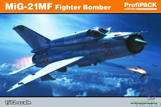 MiG-21MF Fighter-Bomber (ProfiPACK Edition) 1/72 [Eduard]