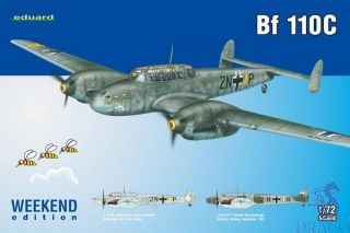 Bf 110C (Weekend Edition) 1/72 [Eduard]