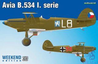 Avia B-534 I.serie (Weekend Edition) 1/72 [Eduard]
